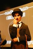 Wax figure of Sir Charles Spencer Charlie Chaplin royalty free stock photo