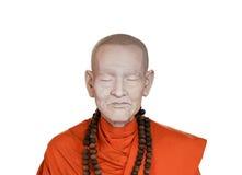 Wax figures monk Stock Photography