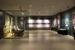 Wax figures soldiers Korean War Memorial of Korea Stock Photography
