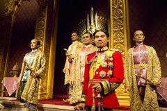 Wax Figures at Thai Human Imagery Museum i Royalty Free Stock Photo