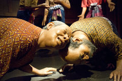 Wax Figures at Thai Human Imagery Museum i Royalty Free Stock Photography