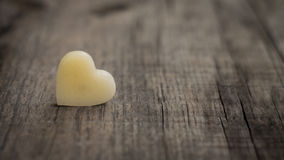 Wax heart Stock Images