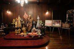 Wax model at wat Chalong Phuket Stock Photography