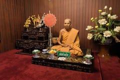 Wax model at wat Chalong Phuket Royalty Free Stock Photos