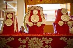 Wax sculptures, Gyuto monastery, Dharamshala, India Royalty Free Stock Images