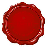 Wax seal Stock Image