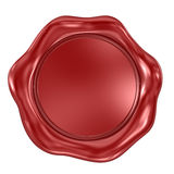 Wax Seal. This is a computer generated and 3d rendered image Royalty Free Stock Images