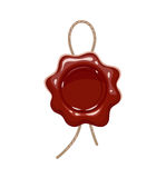 Wax seal. Stock Images
