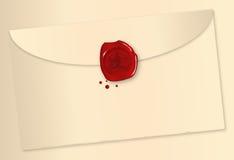 Wax Sealed Envelope Stock Photos