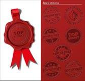 Wax Shield - Top Secret & Important Stock Images