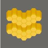 Wax spa banner club vector badge Royalty Free Stock Photo
