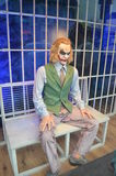 Wax statue of joker Royalty Free Stock Photography