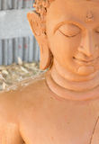 Wax statues of Buddha. Royalty Free Stock Photography