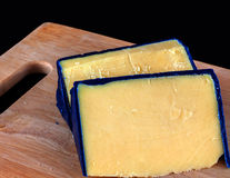 Waxed cheddar Royalty Free Stock Photography