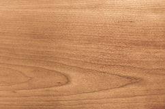 Waxed cherry wood veneer Royalty Free Stock Images