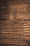 Waxed chestnut wood veneer Stock Photos