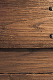 Waxed chestnut wood veneer Stock Image