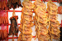 Waxed meat Royalty Free Stock Photos