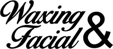 Waxing and Facial Stock Photos