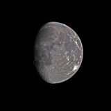 Waxing Gibbous Moon Stock Images
