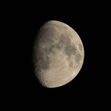 Waxing gibbous moon Royalty Free Stock Photos