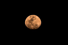 Waxing Gibbous moon Stock Image