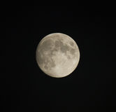Waxing Gibbous Moon Stock Photos