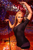 Waxwork of Beyoncé Knowles. LAS VEGAS - OCT 28 : A waxwork of Beyoncé Knowles  at The Madame Tussauds museum in Las Vegas on October 28 2014 Stock Photo