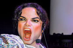 A waxwork of Michael Jackson Royalty Free Stock Image