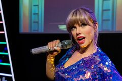 Free Waxwork Statues Of Taylor Swift,  Madame Tussauds Waxwork Museum Stock Images - 180887104