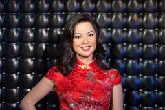 Waxwork of Teresa Teng on display Royalty Free Stock Photo