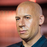 Waxwork of Vin Diesel on display at Madame Tussauds Royalty Free Stock Images