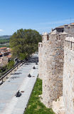 Way in Avila Royalty Free Stock Photos