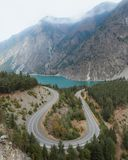Seton Lake Lookout. On the way back from a trip to the Interior with my mom in October 2017, we decided to stop by Seton Lake for a bit. I had been here 7 months Royalty Free Stock Photo