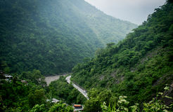 Way below from height: Nepal royalty free stock photos