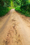 Way in countryside Royalty Free Stock Photo