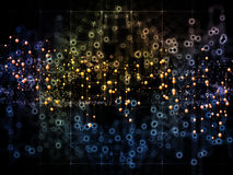 Way of Data Flow Stock Images