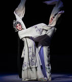 "Way Of Difference-The ninth act Sealing the bowl-Kunqu Opera""Madame White Snake"". Legend of the White Snake is one of the most famous tales spreading Royalty Free Stock Photos"