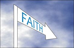 Way of Faith Stock Photos