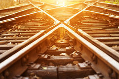 The way forward railway. In China Royalty Free Stock Images