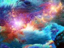 Way of Fractal Paint stock image