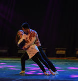 Way of getting along-Modern dance Stock Images