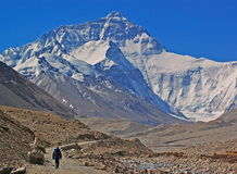 The way go to Everest 2 Royalty Free Stock Images