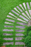 Way on grass Stock Photography