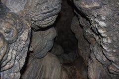 Way inside Mawsmai Limestone Cave, Cherrapunji, Meghalaya Stock Photos