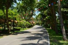 The way,  King Rama II memorial park Stock Photo