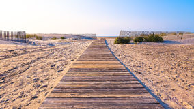 Way leaving afar. Royalty Free Stock Images