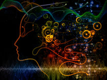 Way of Machine Consciousness Stock Photo
