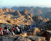 Way from Mount Sinai. Egypt