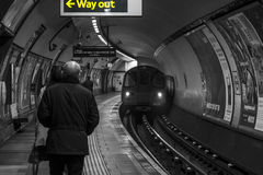 Lost on the underground Stock Images